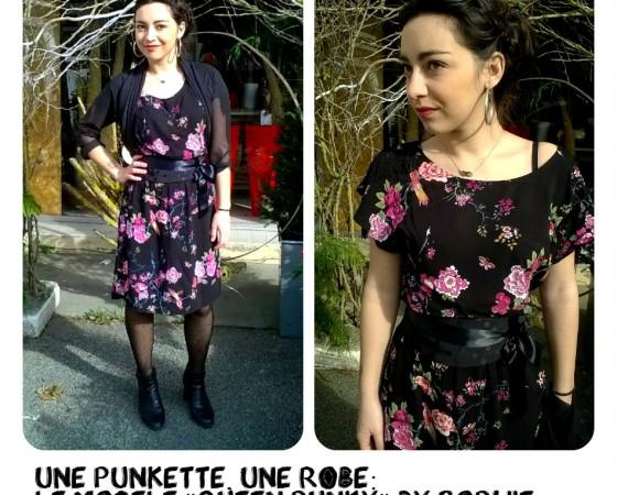 Une Punkette, une robe!